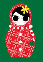 ロシアン人形 クリスマス
