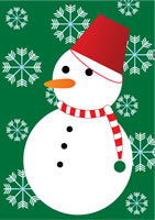 snowman 冬のおくりもの